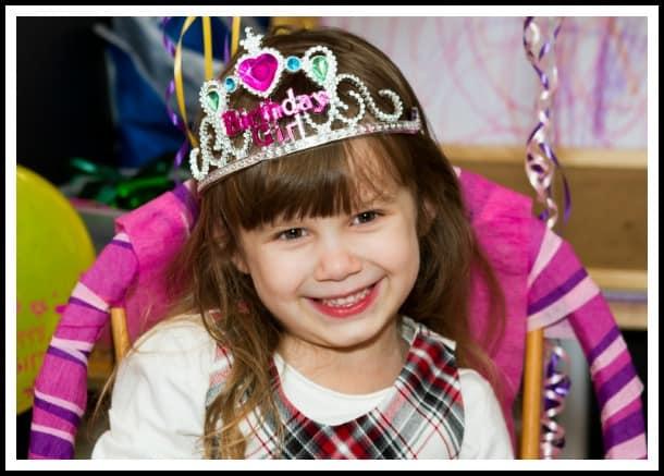 Sophia 5th Birthday