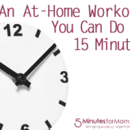 An At-Home Workout You Can Do In 15 Minutes