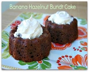 Banana Hazelnut Bundt Cake Recipe
