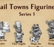 Tail Towns Friends Figurines by Ganz