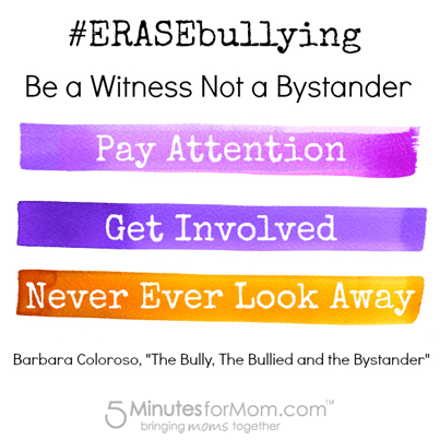 Be a Witness not a Bystander