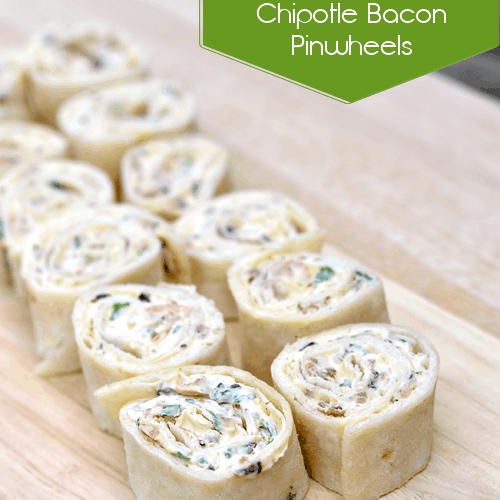 Chipotle Bacon Pinwheels Appetizer