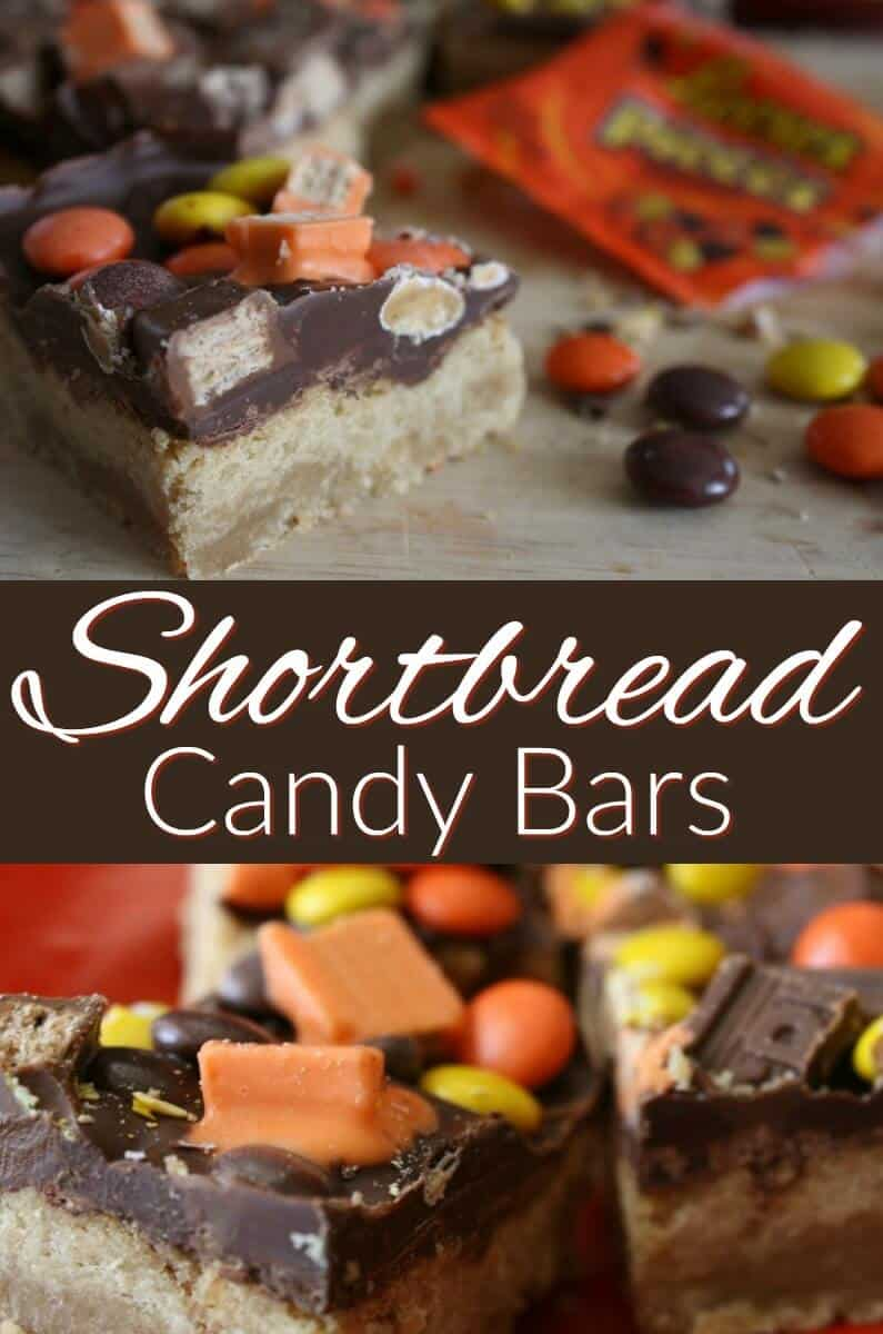 Shortbread Candy Bars Recipe