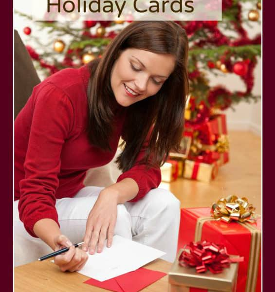 Preparing Your Holiday Greeting Cards