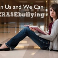 We Must Stop Bullying – Join the Fight #ERASEBullying