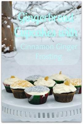 gingerbread cupcakes pin