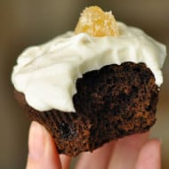 Gingerbread Cupcakes with Cinnamon Ginger Frosting (With Recipe Linky)