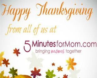 Happy Thanksgiving! What Are You Thankful For?