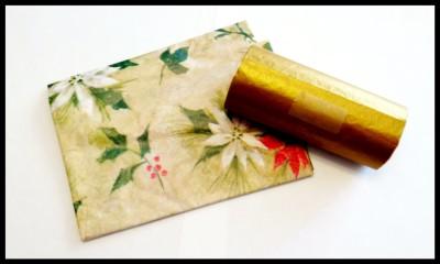 covered tube for Christmas cracker