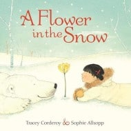 A Flower in the Snow {Review and Giveaway}