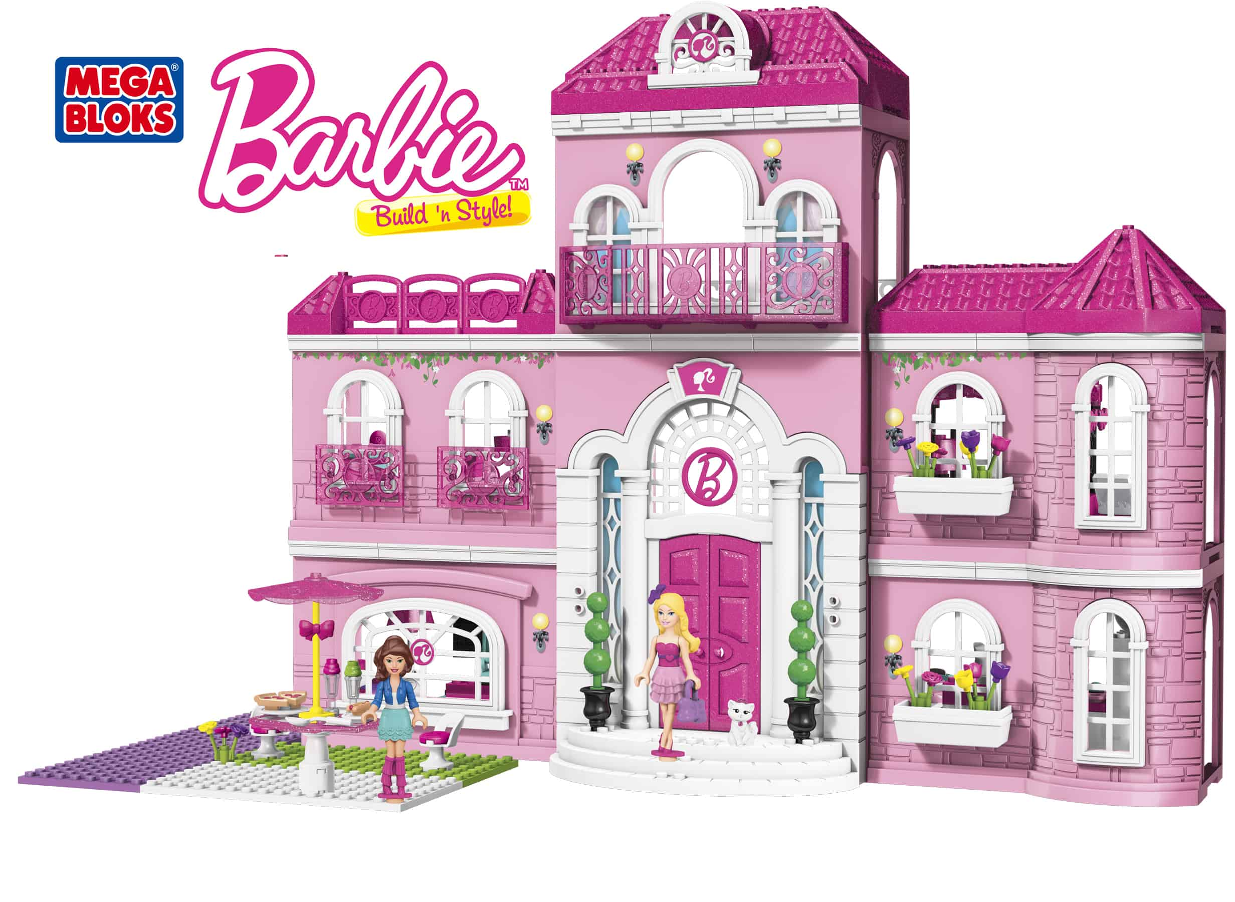 Mega Bloks Barbie Build 39 N Style Luxury Mansion Review