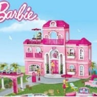 Mega Bloks Barbie Build 'n Style Luxury Mansion (Review and Giveaway)