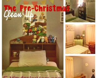 Tackle It Tuesday: The Pre-Christmas Clean Up!