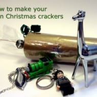 Tackle it Tuesday: How to Make Your Own Christmas Crackers