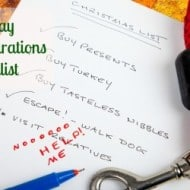 Tackle It Tuesday: Holiday Preparations Checklist