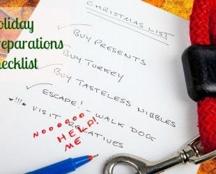 Holiday Preparations Checklist
