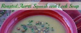 Thumbnail image for Roasted Acorn Squash and Leek Soup (With Recipe Linky)
