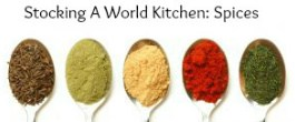 Thumbnail image for Stocking a World Kitchen: Beyond the Salt and Pepper