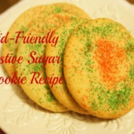 A Kid-Friendly Festive Sugar Cookie Recipe (With Recipe Linky)
