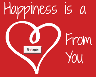 Pin It Friday – Happiness Is…