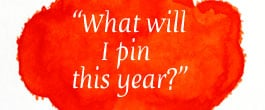 Thumbnail image for Pin It Friday – What Will You Pin This Year?