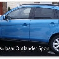 The 2013 Mitsubishi Outlander Sport for Moms on the Go