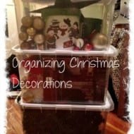 Tackle It Tuesday: Organizing Christmas Decorations
