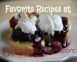 5 Minutes For Food Favorite Recipes