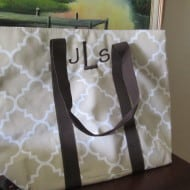 Travel in Style with Initials-Inc and Their Gorgeous Day Tripper Bag (Giveaway)