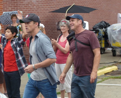 David Lyons in the movie, Safe Haven
