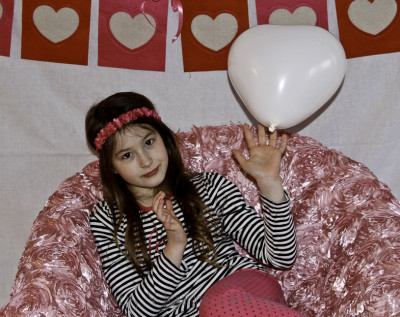 tips on taking valentine's day photos of your children