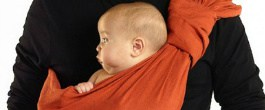 Thumbnail image for Sakura Bloom Baby Sling: A Snuggly Ride for Mommy and Baby