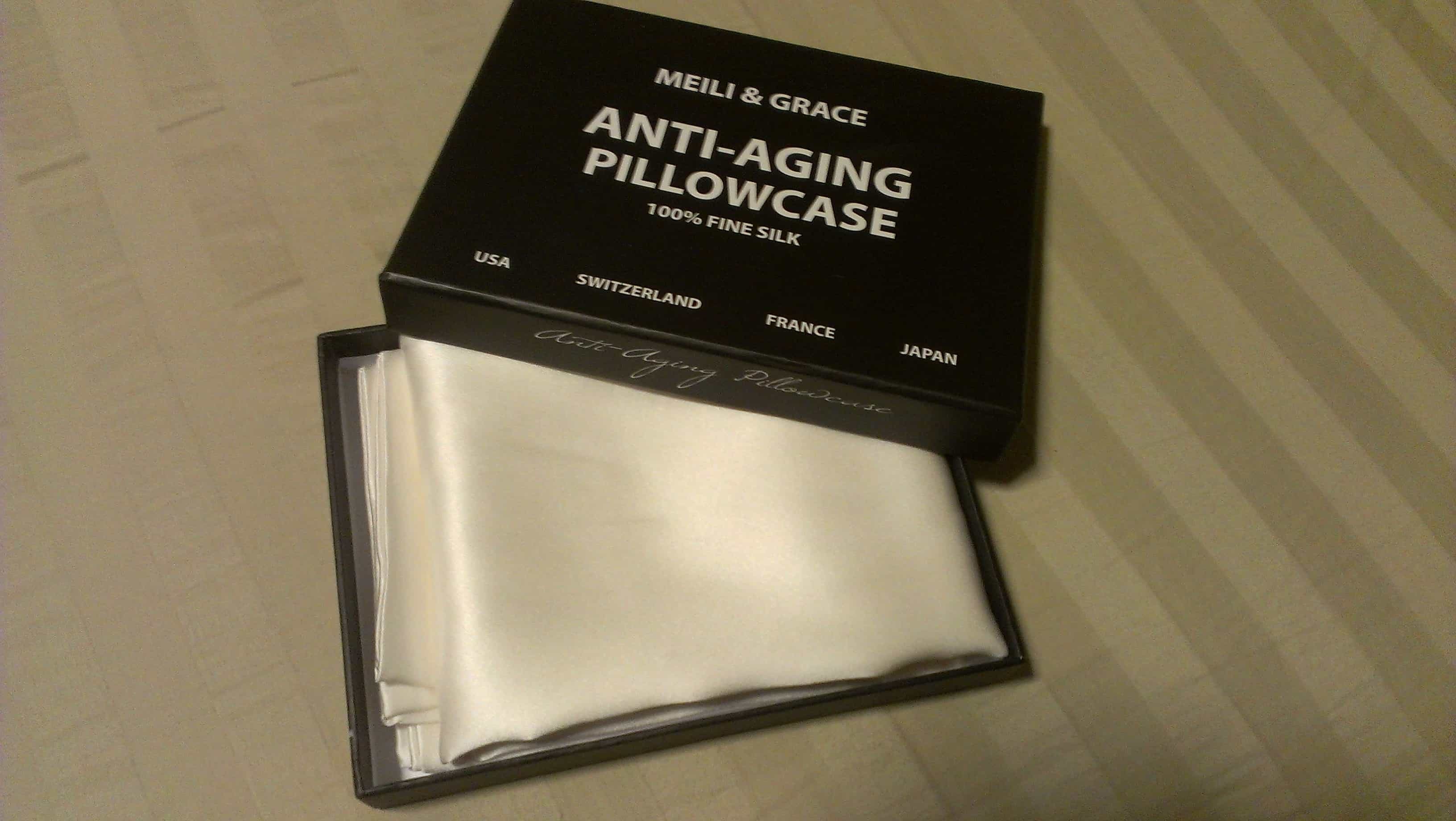 Meili And Grace Anti Aging Pillowcase Helps Prevent Sleep
