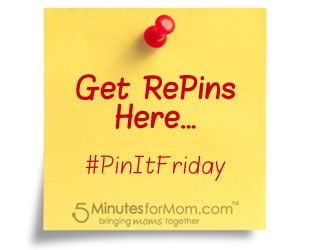Pin It Friday – Get Repins Here