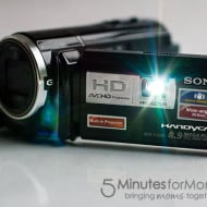 Sony Handycam with Projector — Capture and Project Your Family's Memories