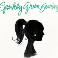 Sparkly Green Earrings {Review & Giveaway}