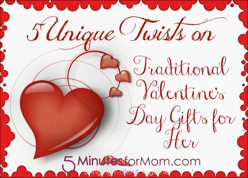 5 unique twists on traditional valentine's day gifts for her, Ideas
