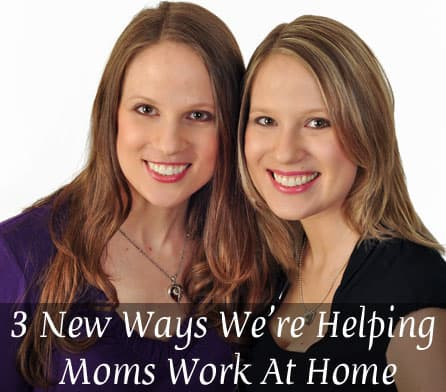 Helping Work at Home Moms
