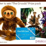 The Croods Inspired Fashion and Food DIY Tips (plus $50 Visa Giftcard giveaway)