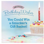 Happy Birthday Smucker's! We're Celebrating Today with a Giveaway