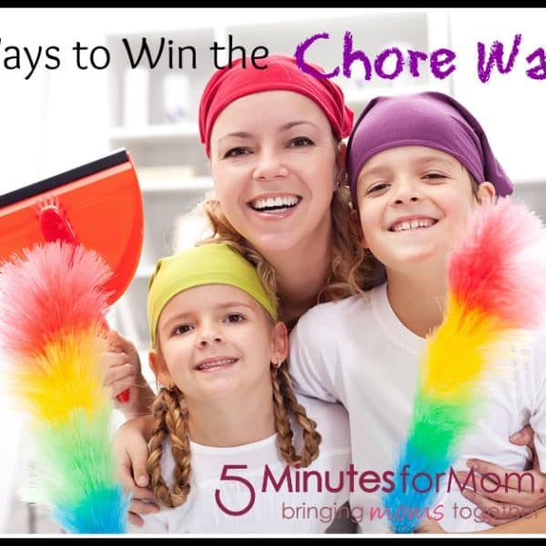 21 Ways to Win the Chore Wars Today