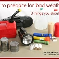 3 Things You Should Know When it Comes to Preparing for Bad Weather