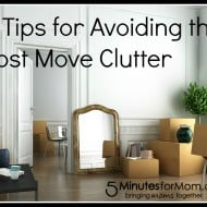 4 Tips for Avoiding the Post Move Clutter