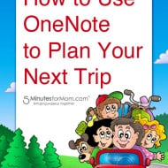 How to Use OneNote to Plan Your Next Trip