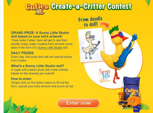 What Kind of Critter Can Your Cutie Create?