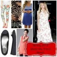 Spring 2013 Maternity Trend Report