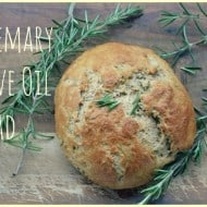 Rosemary Olive Oil Bread #Recipe