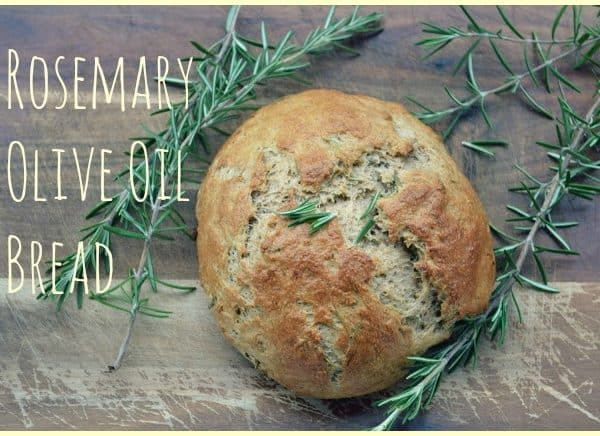 Rosemary Olive Oil Bread Recipe