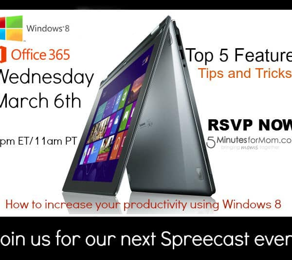 Microsoft Office and Windows 8 Spreecast — and a Chance to Win a Windows 8 PC