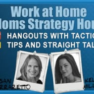 You Are Invited – Google+ Hangout #WorkAtHome Moms Strategy Hour